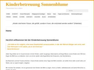 Vorschaubild der Webseite von Kinderbetreuung Sonnenblume e.V.