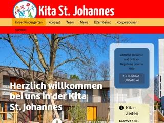 Vorschaubild der Webseite von Katholischer Kindergarten St. Johannes