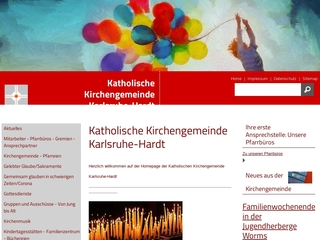Vorschaubild der Webseite von Kath. Kindergarten St. Albertus-Magnus