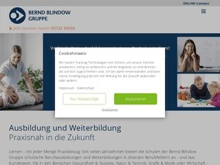 Vorschaubild der Webseite von Bernd-Blindow-Schule Leipzig