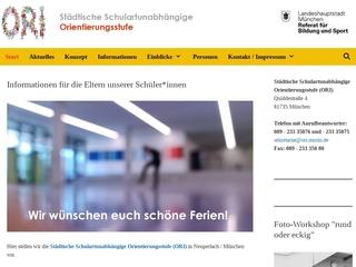 Vorschaubild der Webseite von Schulartunabhängige Orientierungsstufe München-Neuperlach