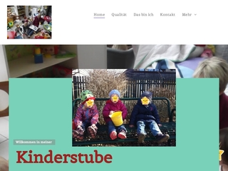 Vorschaubild der Webseite von Kindertagespflege Kinderstube
