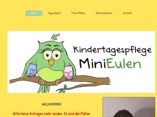 Vorschaubild der Webseite von Tagesmutter Daniela