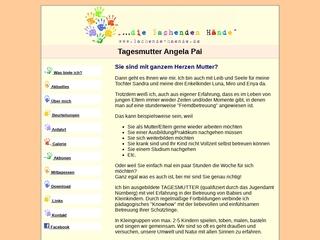 Vorschaubild der Webseite von Kindertagespflege Lachende Hände