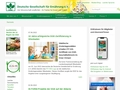 Deutsche Gesellschaft für Ernährung, DGE