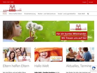 Vorschaubild der Webseite von Eltern helfen Eltern e. V.