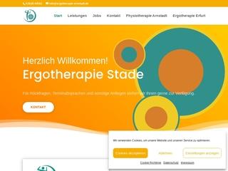 Vorschaubild der Webseite von Ergotherapie Gabriele Stade