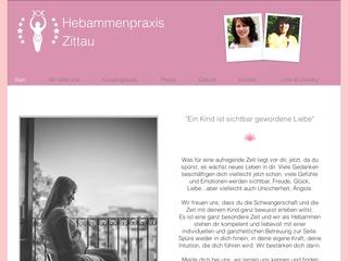 Vorschaubild der Webseite von Hebammenpraxis