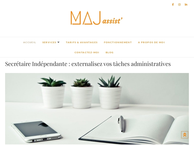 CROLLES - MAJ Assist' secrétaire indépendante