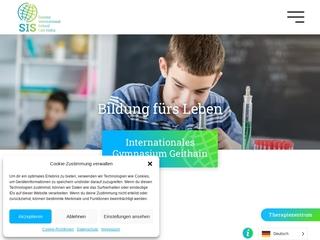 Vorschaubild der Webseite von Internationales Gymnasium Geithain