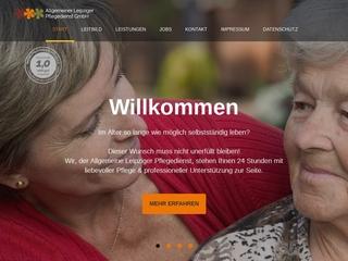 Vorschaubild der Webseite von EOS Pflegedienst GmbH