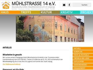 Vorschaubild der Webseite von Soziokulturelles Stadtteilzentrum Mühlstraße e. V.