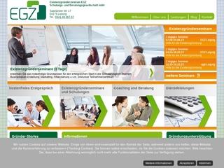 Vorschaubild der Webseite von Existenzgründerzentrum EGZ Schulungs- und Beratungsgesellschaft mbH