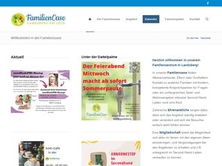 Vorschaubild der Webseite von Familienzentrum Familienoase Landsberg