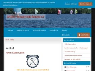Vorschaubild der Webseite von Seesportclub Bautzen e.V.