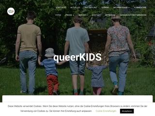 Vorschaubild der Webseite von Queerkids Leipzig