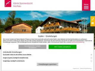 Vorschaubild der Webseite von Mutter-Kind-Kurhaus Klinik Sonnenbichl