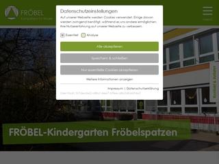 Vorschaubild der Webseite von FRÖBEL Kindergarten Fröbelspatzen