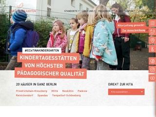 Vorschaubild der Webseite von Kindertagesstätte Habersaathstraße
