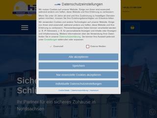 Vorschaubild der Webseite von HeKo Sicherheitstechnik und Schlüsselservice