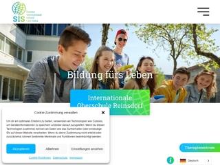 Vorschaubild der Webseite von Internationale Mittelschule Reinsdorf