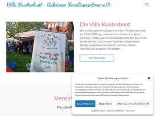 Vorschaubild der Webseite von Villa Kunterbunt Auheimer Familienzentrum e.V.