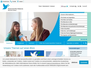 Vorschaubild der Webseite von Kindertagesstätte Zeppenheimer Weg