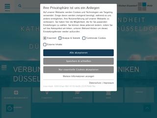 Vorschaubild der Webseite von Marienkrankenhaus Kaiserswerth