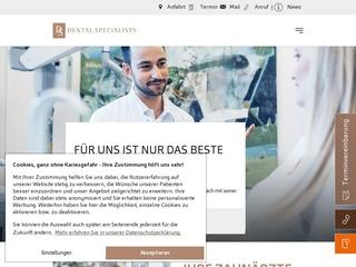 Vorschaubild der Webseite von Dental Specialists