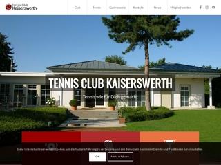 Vorschaubild der Webseite von Tennis-Club Kaiserswerth e.V.
