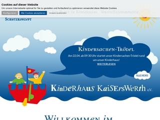 Vorschaubild der Webseite von Kinderhaus Kaiserswerth