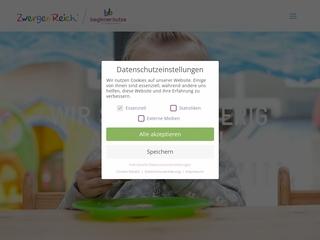 Vorschaubild der Webseite von Private Kindertagesstätte Zwergenreich