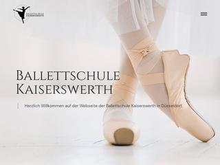 Vorschaubild der Webseite von Balletschule Kaiserswerth