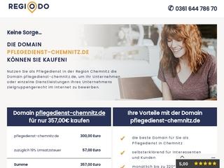 Vorschaubild der Webseite von Pflegedienst Wieland u. Stark