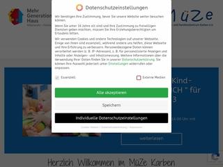 Vorschaubild der Webseite von Mütterzentrum Karben