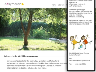 Vorschaubild der Webseite von Kindertagesstätte Kinzigstr. 18