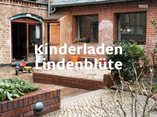 Vorschaubild der Webseite von Eltern-Initiativ-Kindertagesstätte Lindenblüte