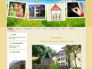Vorschaubild der Webseite von Grundschule Leubnitz