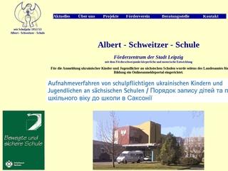 Vorschaubild der Webseite von Albert-Schweitzer-Schule - Schule für Körperbehinderte