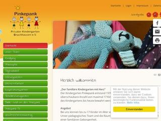 Vorschaubild der Webseite von Kindergarten Pinkepank