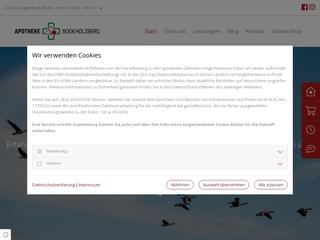 Vorschaubild der Webseite von Apotheke Bookholzberg