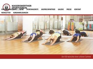 Vorschaubild der Webseite von Kaiserswerther Sportverein von 1966 e. V.