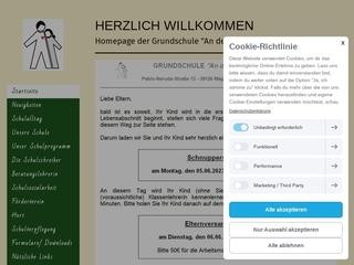 Vorschaubild der Webseite Hort An der Klosterwuhne