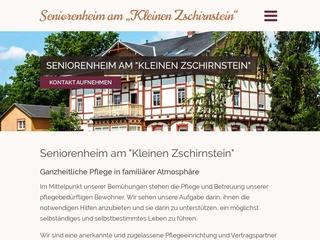 Vorschaubild der Webseite von Seniorenheim am Kleinen Zschirnstein