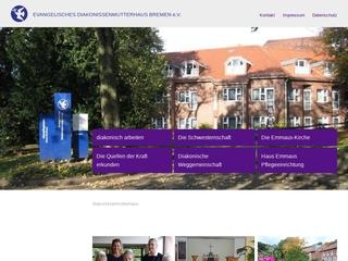 Vorschaubild der Webseite von Evangelisches Diakonissenmutterhaus Bremen e.V.