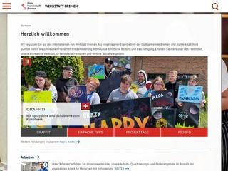 Vorschaubild der Webseite von Werkstatt Bremen