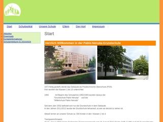 Vorschaubild der Webseite von Pablo-Neruda-Grundschule