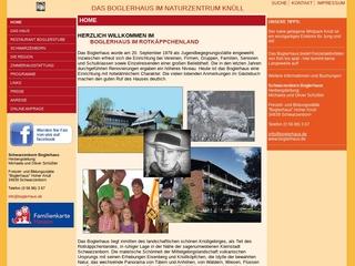 Vorschaubild der Webseite von Jugendherberge Boglerhaus