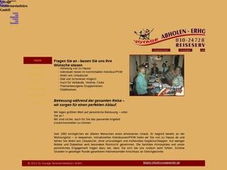 Vorschaubild der Webseite von VOYAGE Senioren-Freizeit GmbH