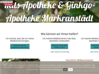 Vorschaubild der Webseite von Ginkgo-Apotheke